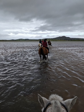 Hacking straight into the water